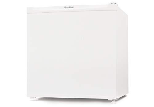エスキュービズム 46L 1ドア冷蔵庫(直冷式)ホワイトS-cubism R-46WH