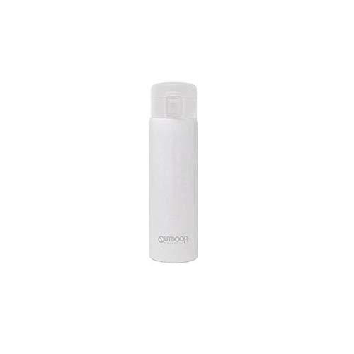 アウトドアプロダクツ (ふわり軽量)ステンレスワンプッシュボトル480ml ホワイト 314-218 114-T084