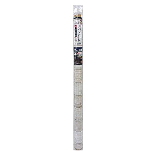 貼ってはがせる!床用 リノベシート アイボリー(ペンキ木) 90cm×180cm REN-02