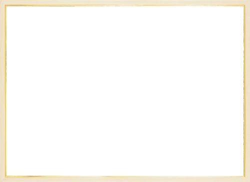 木製パズルフレーム ウッディーパネルエクセレント ゴールドライン ナチュラル (36x49cm)