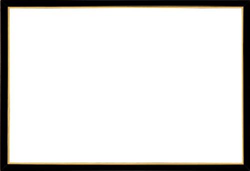 木製パズルフレーム ウッディーパネルエクセレント ゴールドライン シャインブラック (26x38cm)