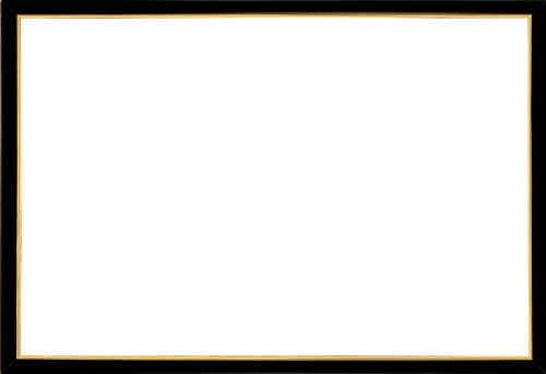 木製パズルフレーム ウッディーパネルエクセレント ゴールドライン シャインブラック(50x75cm)