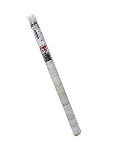 貼ってはがせる!床用 リノベシート アイボリー(ペンキ木) 90cm×90cm REN-02