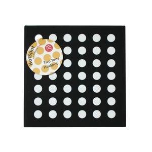 シリコン鍋敷き ホットスポット (黒・白) SIG-13