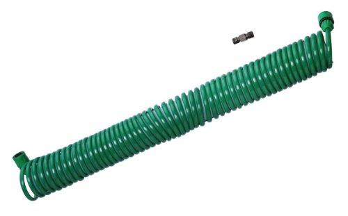 ガーデンコイルホース 取替えホースセット グリーン F7335