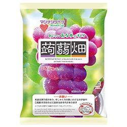 マンナンライフ 蒟蒻畑 ぶどう味25g×12個×12袋入×(2ケース)
