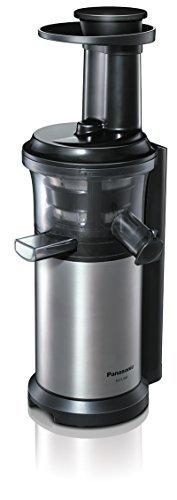 Panasonic vitamin server slow juicer Silver MJ-L500-S [並行輸入品]