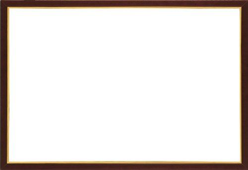 木製パズルフレーム ウッディーパネルエクセレント ゴールドライン ブラウン(49x72cm)