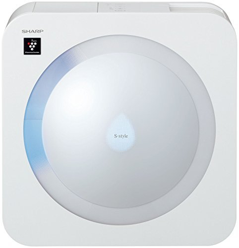 SHARP S-Style Mounted High-density plasma cluster Humidifier. White system 6 tatami type(approx.9.93㎡) HV-EX30-W [並行輸入品]