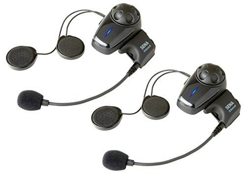 SENA SMH10D-10 DUAL(2台)パック ジェットヘル向け バイクインカム Bluetooth3.0 インターコム US輸入モデル!最新Ver5.0.1 [並行輸入品]