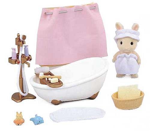 Epoch Sylvanian Families Sylvanian Family House Keeping Bath tub set KA-605 [並行輸入品]