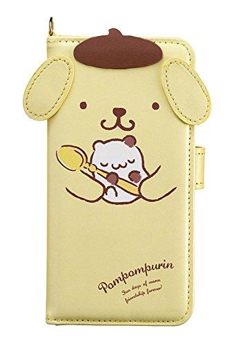 サンクレスト iDress iPhoneX 5.8インチ対応 手帳型 ダイカットカバー サンリオキャラクター ポムポムプリン お茶会 iP8-SA07P