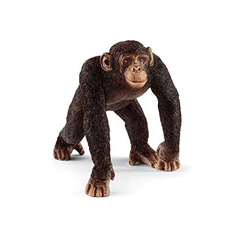 シュライヒ ワイルドライフ チンパンジー(オス) フィギュア 14817