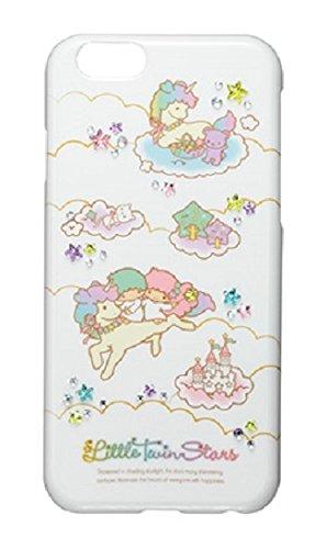 サンクレスト iDress iPhone6 4.7inch対応 ジュエリーカバー リトルツインスターズ レインボー iP6-TS02