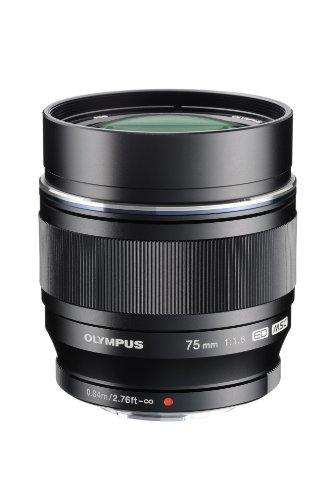 Olympus M.Zuiko Digital - Telephoto lens - 75 mm - f/1.8 ED - Micro Four Thirds