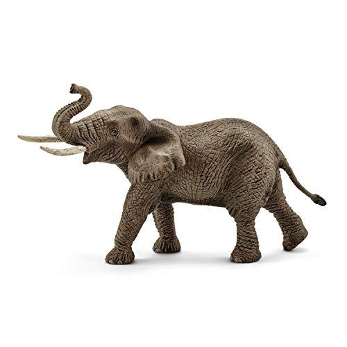 シュライヒ ワイルドライフ アフリカ象 (オス) フィギュア 14762