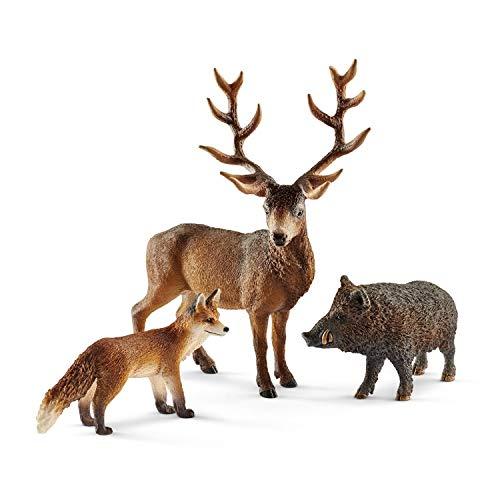 シュライヒ ワイルドライフ ヨーロッパの森に住む動物 フィギュア 41458