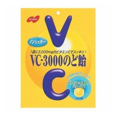 ノーベル VC-3000のど飴 90g 48コ入り