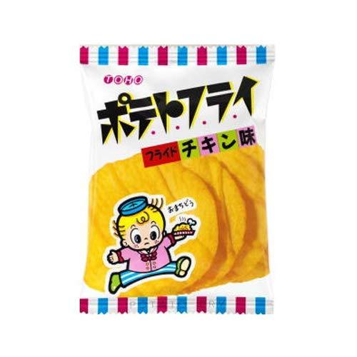 東豊製菓 ポテトフライ(フライドチキン) 11g 8コ入り