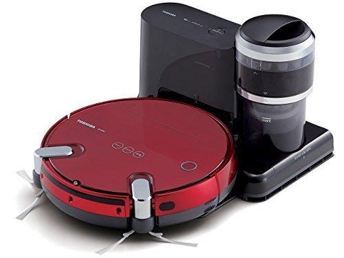 TOSHIBA robot cleaner TORNEO ROBO VC-RVS2-R (Grand Red) [並行輸入品]