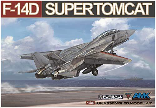 アバンギャルドモデル 1/48 アメリカ海軍 F-14D スーパートムキャット プラモデル AGM88007