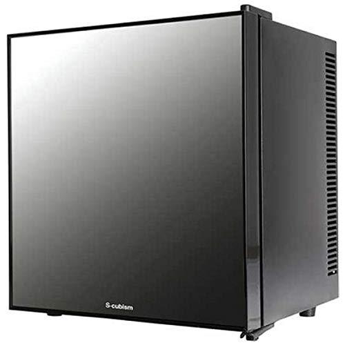 エスキュービズム A-Stage 1ドア 冷蔵庫 20L ミラーガラス ペルチェ式 WRH-M120 ブラック S-cubism