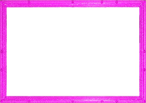 パズルフレーム クリスタルパネル キラピンク(18.2x25.7cm)