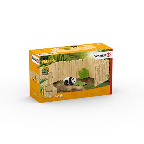 シュライヒ ワイルドライフ パンダ飼育セット フィギュア 42429
