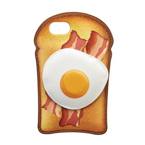 iDress iPhone8 iPhone7 バックカバー アメリカンデリ 目玉焼きトースト iP7-CH08