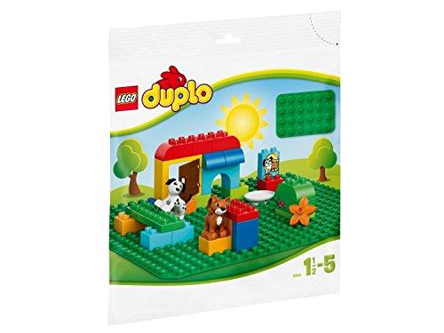 LEGO DUPLO Large Green Building Plate [並行輸入品]