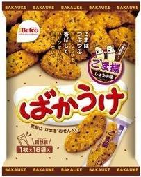 栗山製菓 ◆ばかうけごま揚げ◆ 16枚×6袋