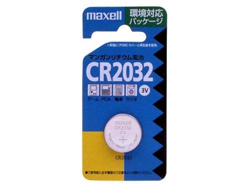 日立マクセル コイン形リチウム電池 1個入り CR-2032-1BS