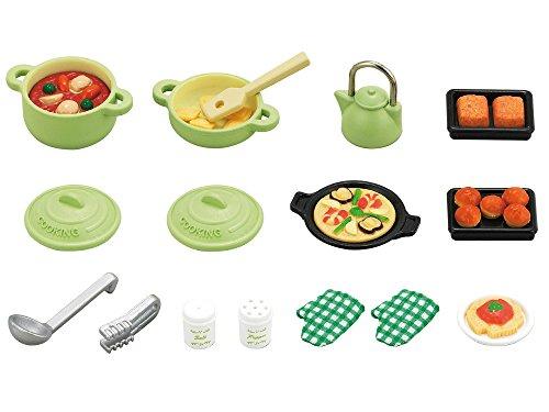 シルバニアファミリー 家具 料理セット カ-410