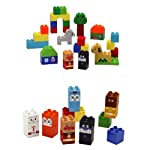 ブロックラボ アンパンマン はじめてのブロックバケツ & アンパンマンとおともだちブロック セット