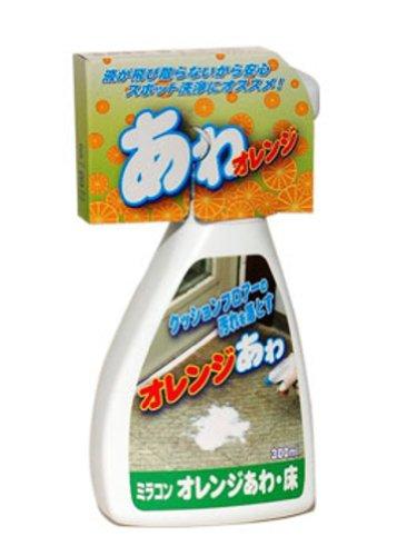 日本ミラコン産業 化学床の汚れ落し オレンジあわ・床用 300ml BOTL-19