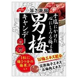ノーベル製菓 男梅 80g×6袋入×(2ケース)