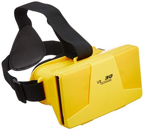 3D VR GOGGE バーチャルリアリティゴーグル イエロー VR GOGGLE YELLOW