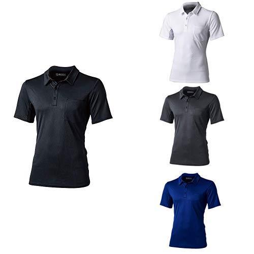 おたふく手袋 ボディータフネス 吸汗 速乾 デュアルメッシュ ポロシャツ ショートスリーブ 4色セット Mサイズ