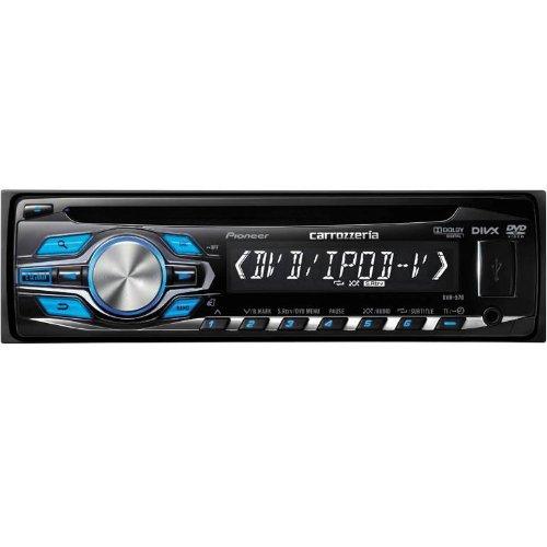 carrozzeria DVH-570 1DINデッキ【CD/DVD/AUX/USB】