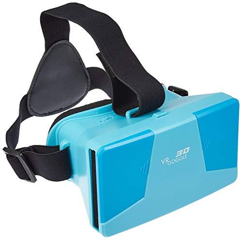 3D VR GOGGE バーチャルリアリティゴーグル ブルー VR GOGGLE BLUE