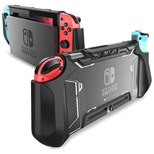 MUMBA NintendoSwitchカバー ニンテンドースイッチケース TPU+PC製 全面保護 傷防止 指紋防止 衝撃吸収 NintendoSwitch ドックセットとJoy-Con兼用 取り外し簡単 [Blade シリーズ]