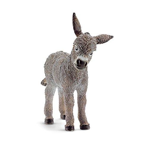 Schleich Donkey Foal Toy Figure [並行輸入品]