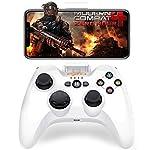 Bluetooth接続 iPhoneにコントローラーPXN 専属無料APPあり Apple認証 IOS MFi ゲームパッド iPhone, iPad, iPod touchに対応 PUBGに非対応(黒)
