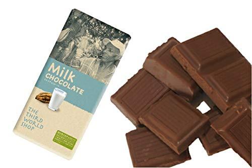 第3世界ショップ フェアトレード ミルクチョコレート100gx3個セット