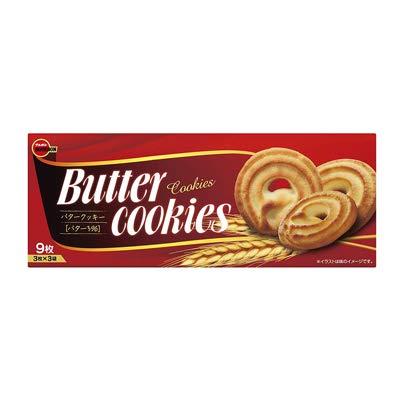 ブルボン バタークッキー 9枚 48コ入り