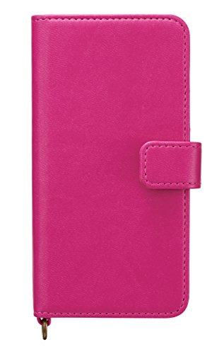 サンクレスト iDress newT iPhoneX 5.8インチ対応 手帳型 イタリアンソフトレザー ピンク iP8-NW03
