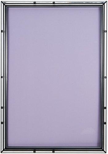 パズルフレーム クリスタルパネル スモークブラック(26x38cm)