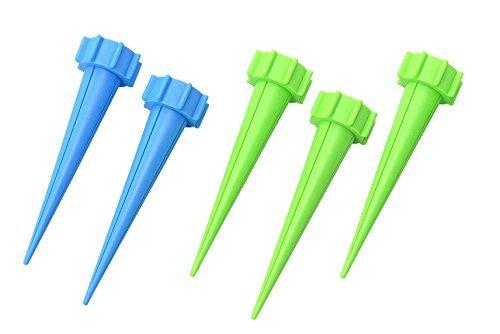 セイエイ (Seiei) おまかせ給水キャップ 青2個・緑3個の5個セット× 【まとめ買い5個セット】