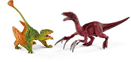 シュライヒ 恐竜 ディモルフォドンとテリジノサウルス (小) フィギュア 41425