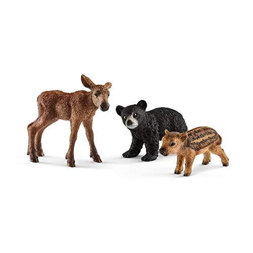 シュライヒ ワイルドライフ 森の動物の赤ちゃん フィギュア 41457